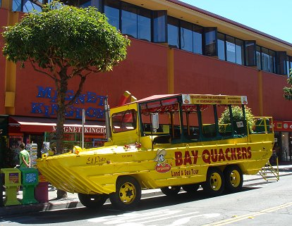 San Francisco Quackers vehicle
