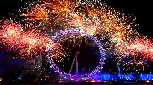 London On New Year's Eve