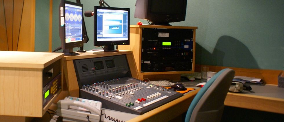 Radio studio web cams