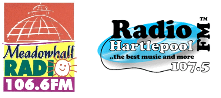 Meadowhall radio and Radio Hartlepool