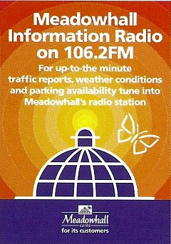 Meadowhall Radio Poster