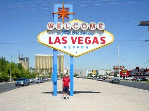 Paul Denton and the Las Vegas sign
