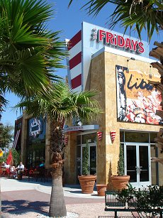 TGI Friday's On International Drive Florida